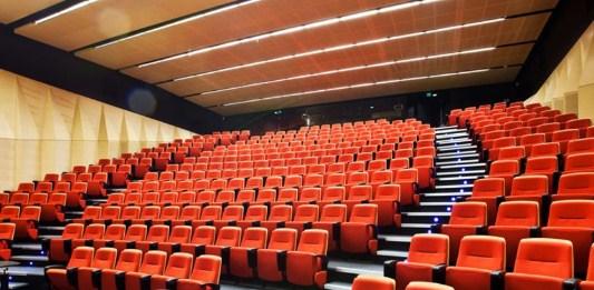 cortinas y paneles acusticos para teatros