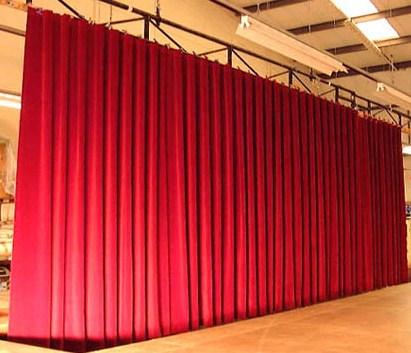 taller de telones para teatros y auditorios
