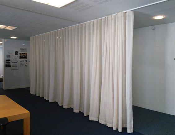 las mejores imágenes de cortinas acústicas para separar ambientes